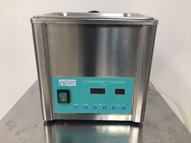 Pre-Owned Brandmax TRI-CLEAN Ultrasonic Cleaner w/Heat & Basket 5 Liter #U-5LH