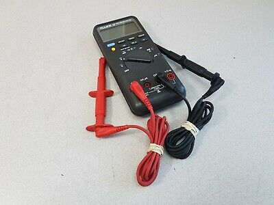 Fluke 87 True Rms Multimeter With Leadsprobes And Case Tested Working