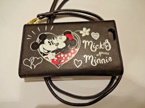 Disney Cross-Body Wallet Case iPhone 6 Mickey/Minnie Mouse True Love Card Holder