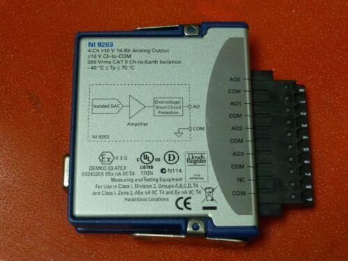 National Instruments NI-9263 cDAQ Analog Output Module