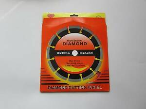 "230 MM 9"" DIAMOND SAW CUTTING WHEEL BLADE DISK, ANGLE GRINDER Frankston North Frankston Area Preview"