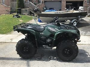 2009 Yamaha Grizzly 550