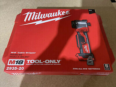 Milwaukee 2935-20 M18 Cable Stripper - Tool Only