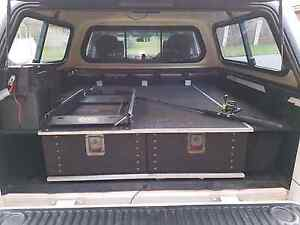 D40 Navara 4x4 Drawers system Ashmore Gold Coast City Preview
