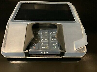 Verifone Mx925 Full Antimicrobial Cover W Tempered Glass Screen Protector