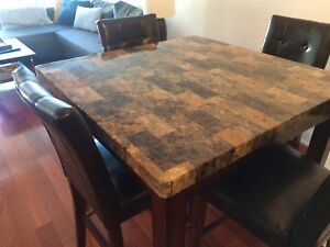 Tall kitchen table - needs to go!