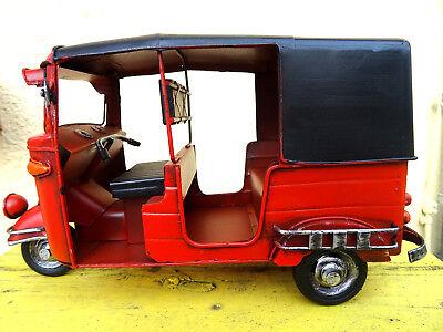 Tuk Tuk Thailand Auto Rikscha Motorrad Taxi Retro Dekoration Geschenk Kult