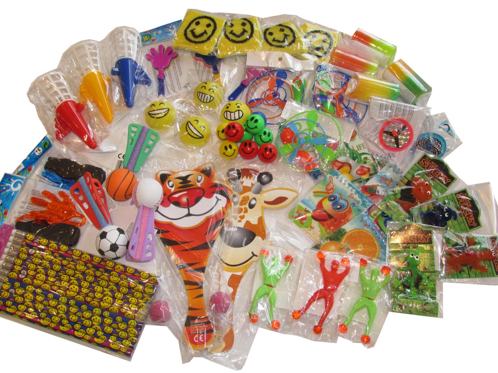 50x Mitgebsel Mix für Kindergeburtstag Kleinspielzeug Spielzeug Spielwaren Neu