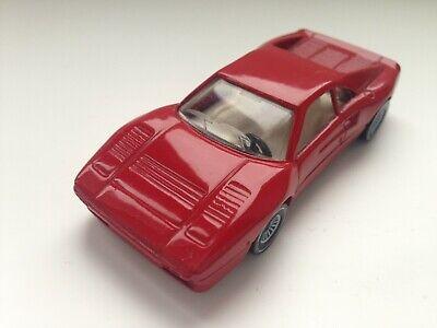 Siku 1060 Ferrari GTO in dunkelrot / schwarz mit B4 Räder ! RAR !!