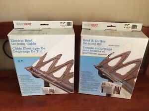 Roof and Gutter De-Icing Kits