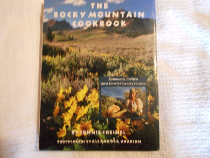 The Rocky Mountain Cookbook, Connie Chesnel photo Alexandra Avakian, '89 1st/1st