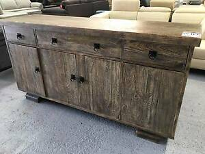 """Factory Second """"Nebraska"""" Sideboard Buffet Unit Epping Whittlesea Area Preview"""