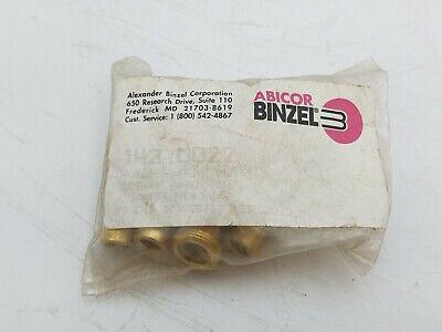 10 Pack Abicor Binzel 142.0022 Contact Tip Holder M8 Spray Arc Welding Equipment