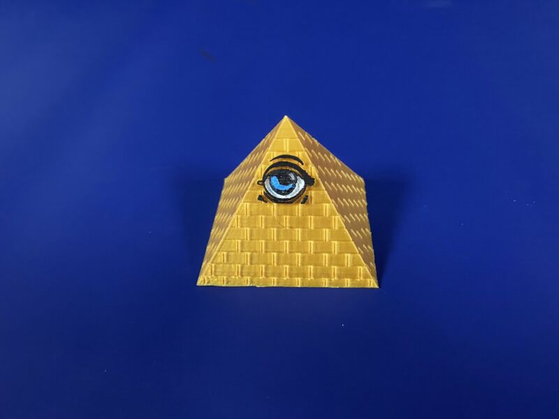 "Twilight Zone Pinball Mod ""The Power"" Pyramid"