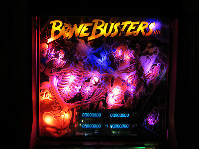 Bone Busters Complete LED Lighting Kit custom SUPER BRIGHT PINBALL LED KIT