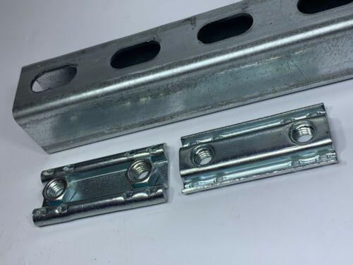 (QTY 10) 3/8-16 Double Adjusting Conveyor Nuts for Unistrut Channel #4857 P4908