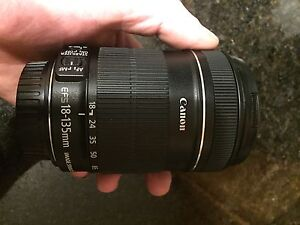 Canon 18-135mm lens