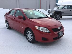 2009 Toyota Corolla 5 speed standard - safetied