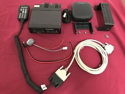 Upgraded Motorola Astro Spectra W3 Uhf P25 Digital Mobile Radio 40 Watt Complete