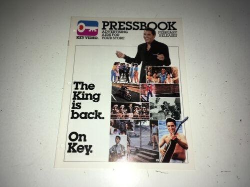 ELVIS PRESLEY Vintage Movie Pressbook 1980s Rock & Roll