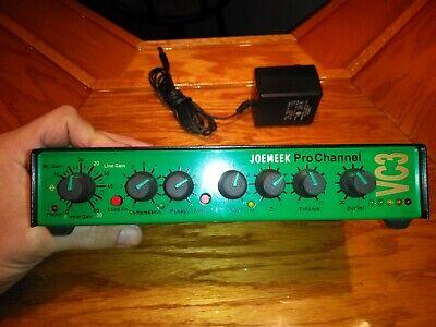 Joe Meek VC3Q EQ Equalizer Input Vocal Compression Pro Channel JoeMeek (Joemeek Preamps)
