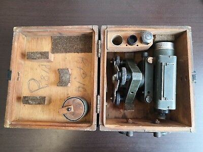 Old Ussr Soviet Transit Scope Survey Level Theodolite 1957 Model Nv 1 Nr. 9925