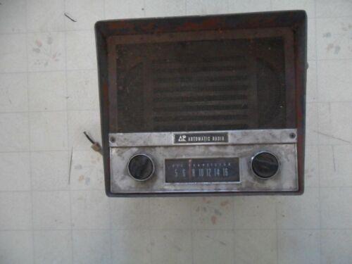 Vintage Tractor Automatic Radio