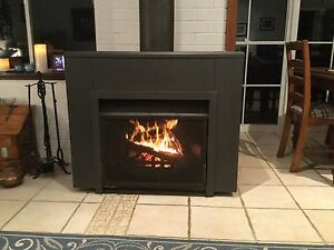 Jetmaster free standing open woof fireplace Revesby Heights Bankstown Area Preview