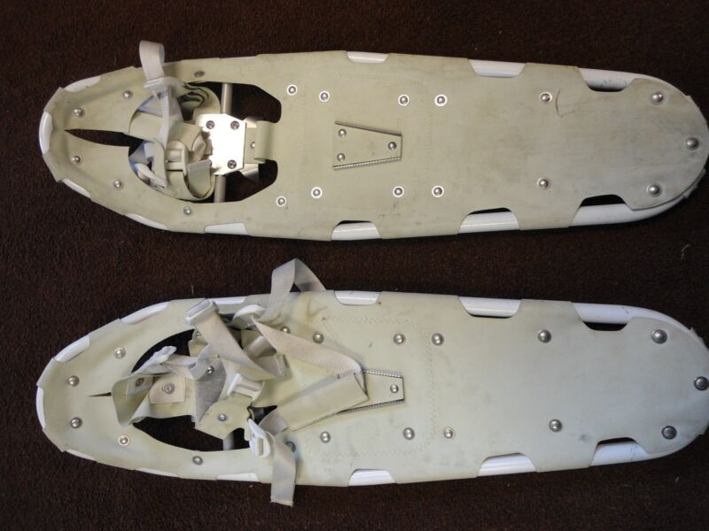 """US Military 28"""" Snowshoes w/Bindings (used)"""
