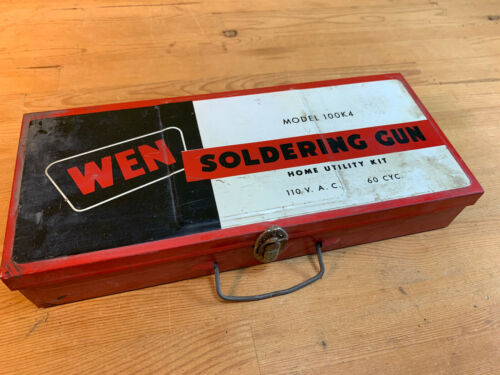 Great Vintage Wen Soldiering Gun And Case Model 100K4 Tested- Free Shipping