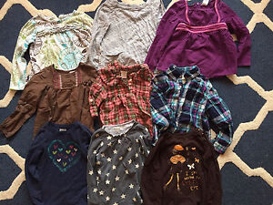 Lot of girls clothes. Size 5