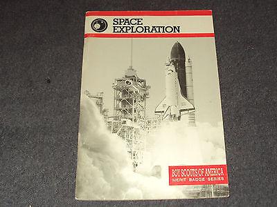 Space Exploration Merit Badge Book 1994 Printing