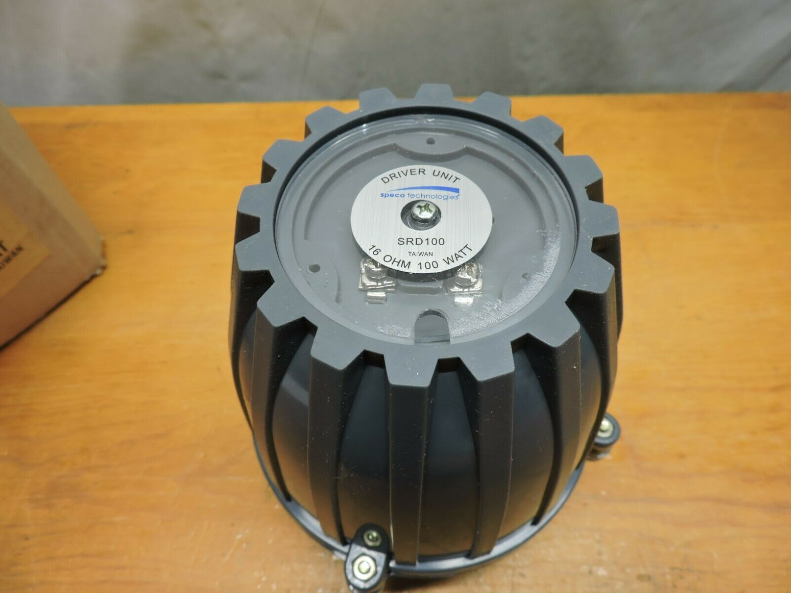 Speco SRD100 100W RMS Horn Driver With 1.5 Inch Standard Thread Throat. NOS - $40.00