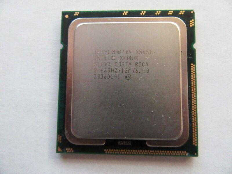 Intel SLBV3 Xeon X5650 2.66GHz/12M/6.40 Socket 1366 6-Core CPU Processor LGA1366