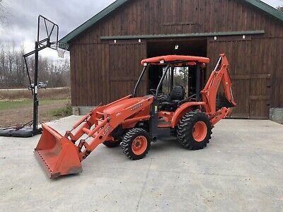2007 Kubota L39 Tractor Loader Backhoe Package