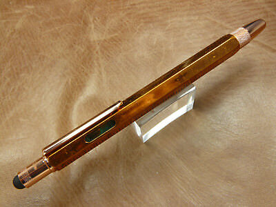 MONTEVERDE ONE TOUCH TOOL FOUNTAIN PEN WITH STYLUS COPPER  MEDIUM NIB
