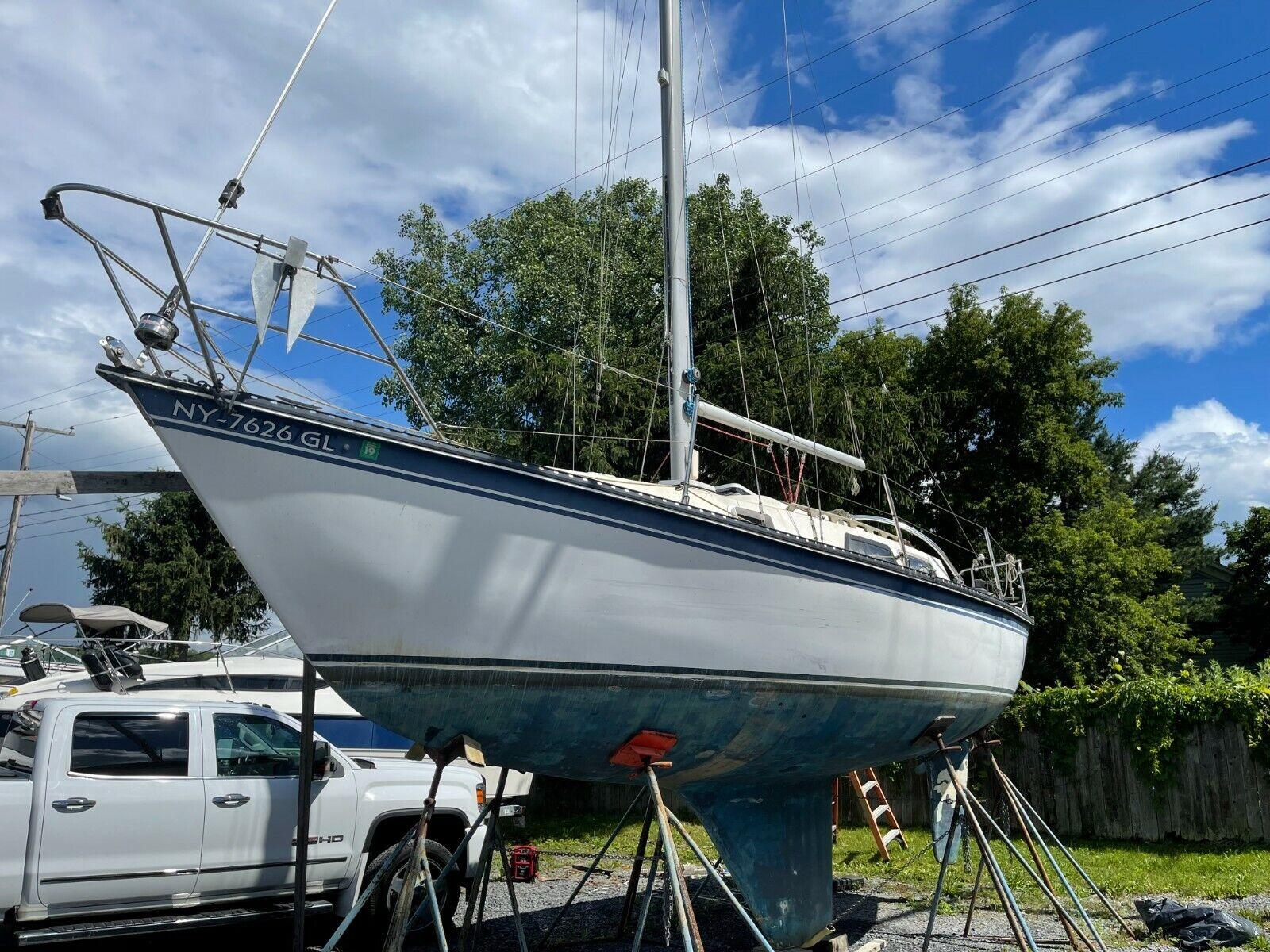 1983 Newport 28' Sailboat - New York