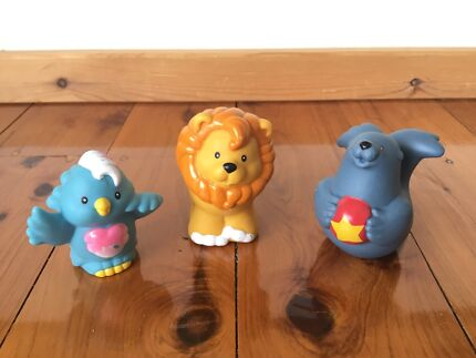 ASSORTED BABY TOYS / BATH TOYS (FISHER PRICE, ELC, LITTLE PEOPLE etc ...