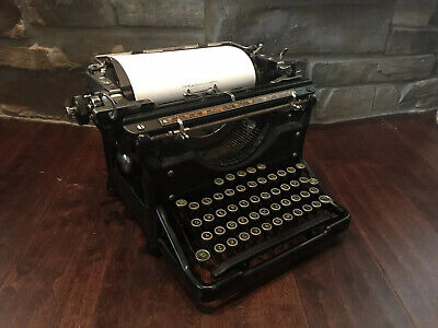 ~Antique~1934 Underwood Model 6 Vintage Typewriter #4215217-10 Works Great 🌟