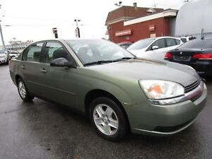 2004 Chevrolet Malibu LS,SEDAN 112000KM TRES BONNE CONDITION