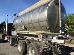 Stainless steel tank for roll off