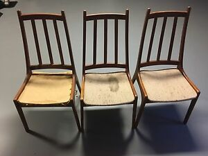 Danish Teak Kitchen Dining Chairs