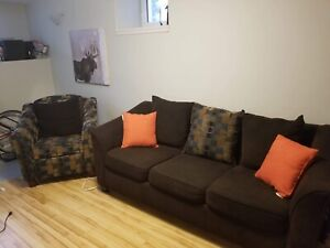 Couch and chair sofa set