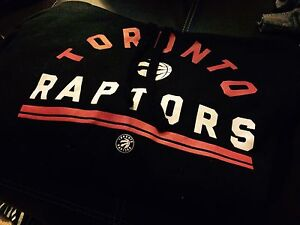 Men's Xl Toronto raptors sweat shirt hoodie