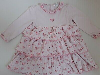 Baby Girls Kissy Kissy Pink Dress - Age 18-24 Months/1.5-2 Years