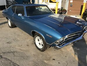 1969 CHEV CHEVELLE MALIBU $ 27,000 MOST DESIRED CHEVY