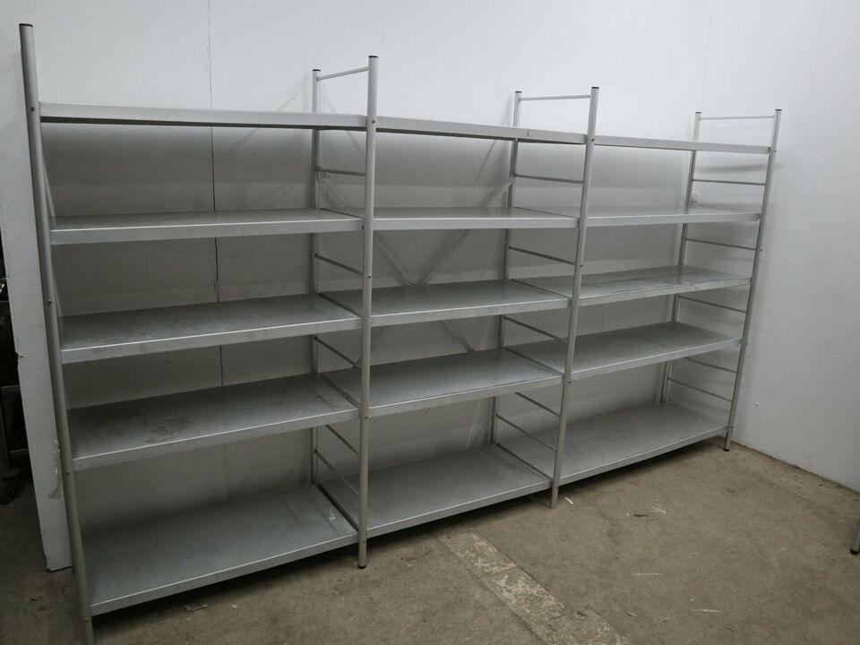 Alu Regal 320cm Kühlzelle Gastro Aluregal Hygiene geeignet Lager in Berlin