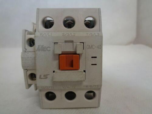 NEW LS/META/MEC GMC-40 CONTACTOR 200/220V COIL