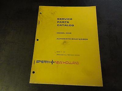 New Holland 1038 Automatic Bale Wagon Service Parts Catalog Manual  9-83