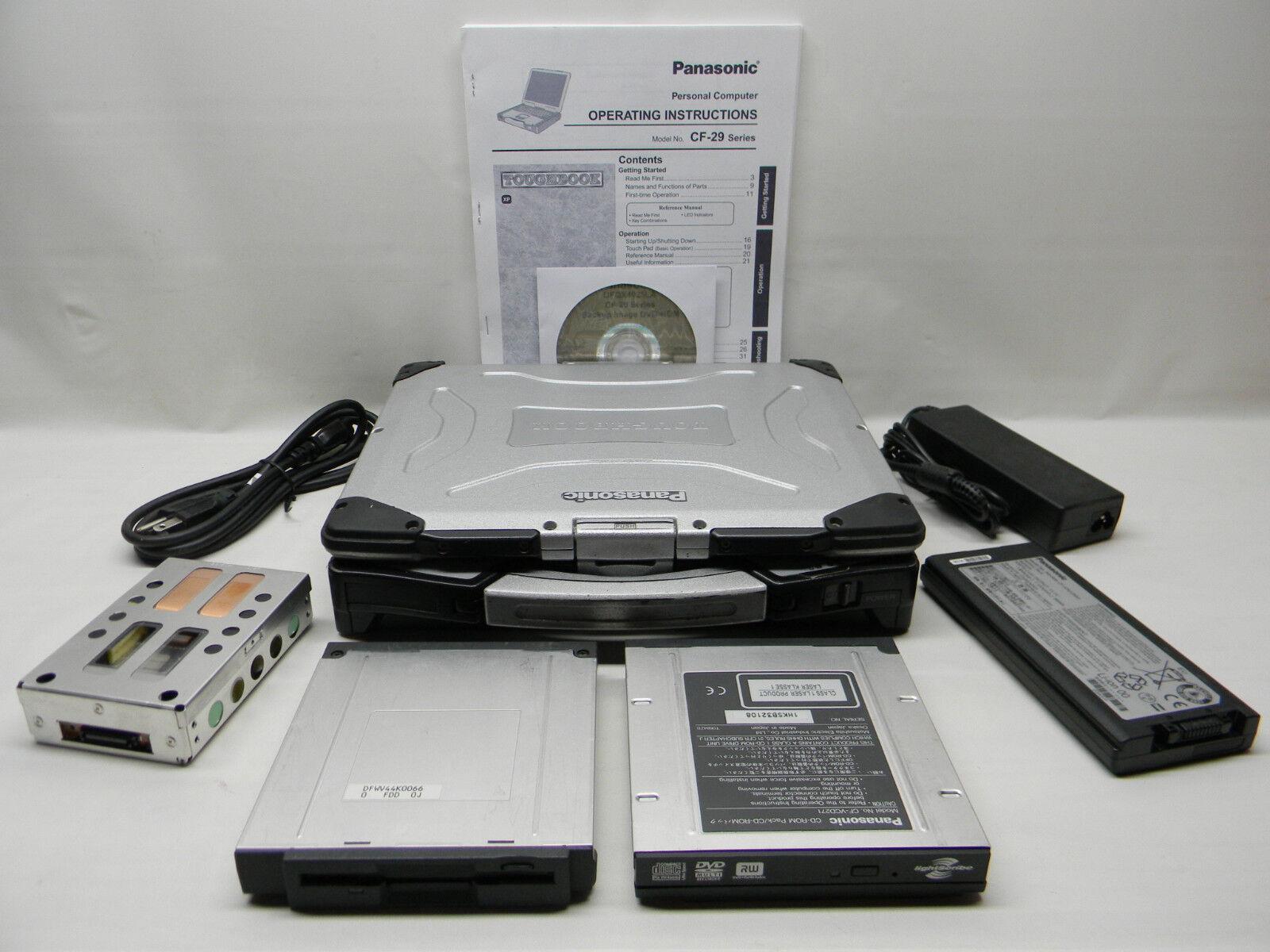 Panasonic Toughbook CF-29 Industrial/Commercial Laptop XP Pro #689